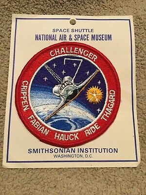 NASA Space Exploration Program Challenger STS-7 Mission Patch With Packaging!
