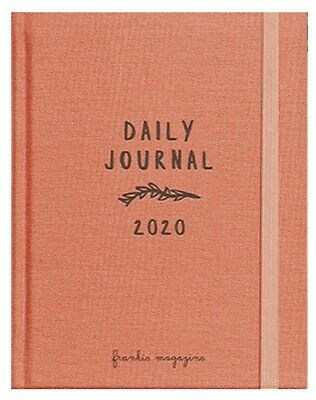 2020 Frankie Diary Cloth Bound Daily Journal with Cards Stickers & Gift Tags