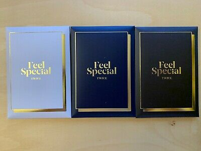 TWICE Feel Special 8th Mini Album Pre-Order Photocard Set (3 Versions) US SELLER