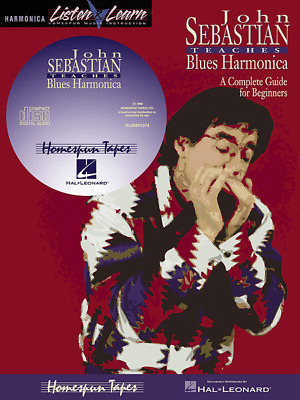 Red White and the Blues Harmonica Book CD Harmonica Pack Book and CD 014027054