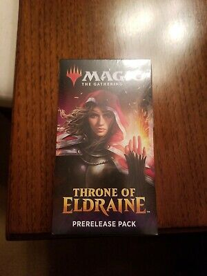 Magic The Gathering Throne Of Eldraine Prerelease Kit Factory Sealed Unopened