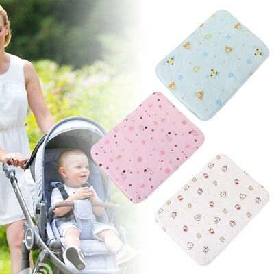 Baby Changing Pad Reusable Waterproof Stroller Diaper Folding Soft Mat Washable