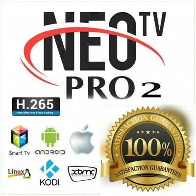 NEOTV PRO 2 **12 Mois** ( FULLHD,ANDROÏDE,SMARTTV) NEO TV PRO 2