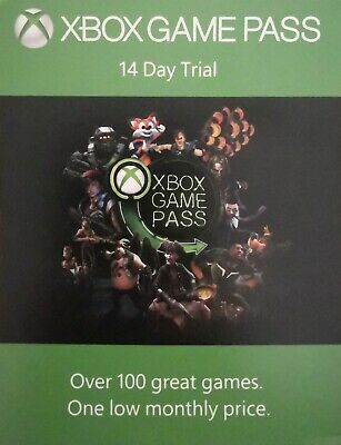 Xbox game pass 14 days trial