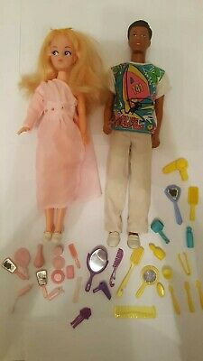 Sindy Clone Doll And Paul Doll