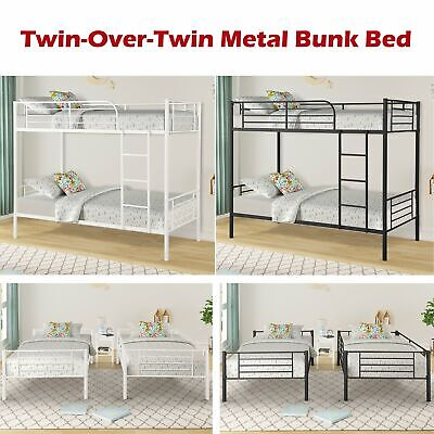 Pleasant Solid Metal Junior Loft Bed Frame Twin Size Bunk Kids Gmtry Best Dining Table And Chair Ideas Images Gmtryco