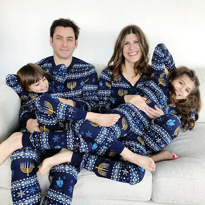 Christmas Parent-Child Clothing Mother/Father/Children/Baby Home Suit Pajamas