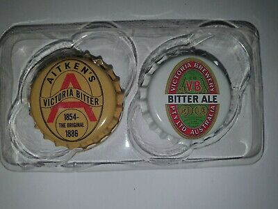 VB Classic Collectables - Bottle Top Fridge Magnets - Pack of 2