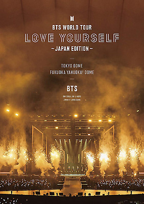 BTS WORLD TOUR LOVE YOURSELF JAPAN 2 DVD regular edition photo booklet