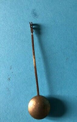 Antique clock pendulum - spares parts
