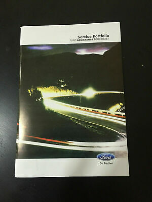 Ford Fiesta Service Book New Not Duplicate Super Fast Free Delivery