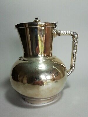 Elkington and Co. Christopher Dresser silver plated Claret Jug 1884