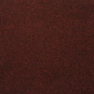 Red Contract Velour Carpet Gel Backed, Office, Kitchen, Hardwearing