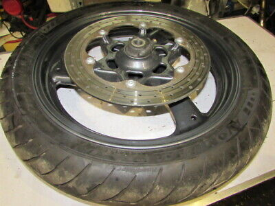 Yamaha Diversion Complete Front Wheel Freshly Powered Coated Stock No BBB11472