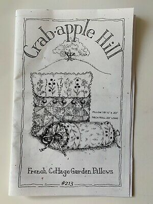 10/% Off Crab-apple Hill Quilting//Embroidery Pattern-French Cottage Garden Quilt