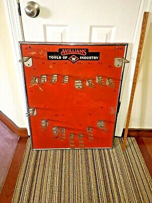 Vintage J.h.williams Hardware Store Advertising Tool Display -A Snap-On Product