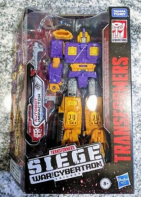 """Transformers Siege War For Cybertron 6"""" Figure Deluxe Class - Impactor IN HAND!!"""
