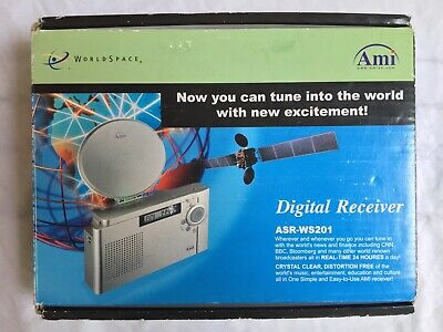 Ami Worldspace World Digital Receiver New Asr-Ws201 Awa