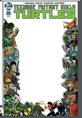Tmnt Ongoing #99 Jason Flowers Blank Sketch Cover Epikos Exclusive Variant 10/30