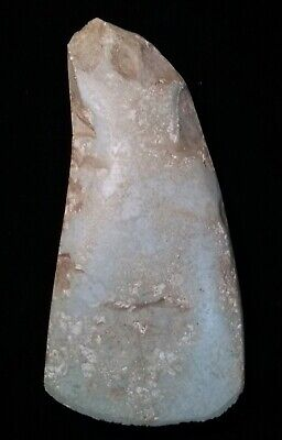 Rare English, Chalcolithic Votive Axe in Unusual Serpentine Stone.