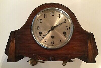 MANTLE CLOCK Spares & Repairs With Popular Progress Key No 8