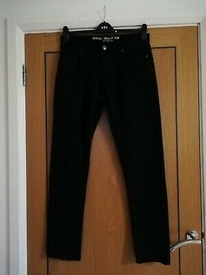 "Boys/Mens SLIM Black - Denim Co - JEANS Waist 32"" Leg 32"""