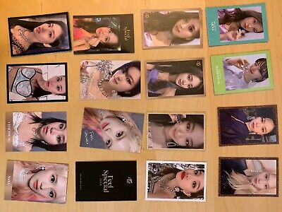 TWICE Feel Special 8th Mini Album - Official Photocards Choose Member - Updated