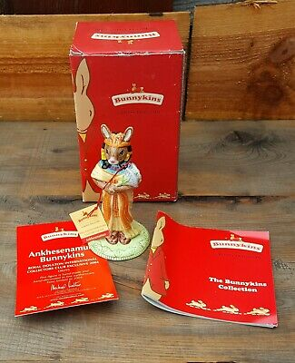 Lovely Royal Doulton Bunnykins figurine -  Ankhesenamun - DB 295 - Boxed - Mint