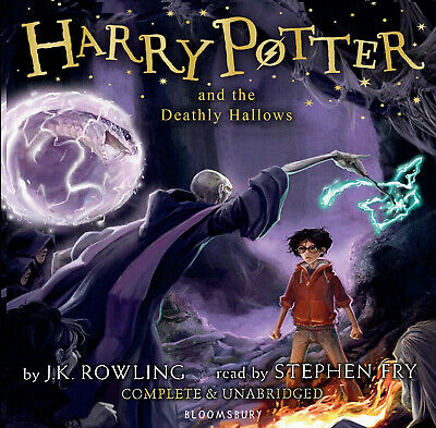 Harry Potter and the Deathly Hallows read by Stephen Fry Latest Version. 20 CD's