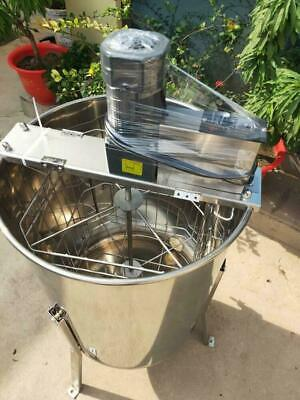 4 Frame Honey Extractor Beekeeping Equipment Large Stainless Steel Electric Drum