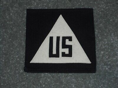 """WWII /""""AAF TECHNICAL REPRESENTATIVE/"""" NON-COMBATANT PATCH LT TAN CE BORDER"""