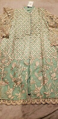 Pakistani/Indian Women's Original Agha Noor Kurti and Duppata with Embroidery