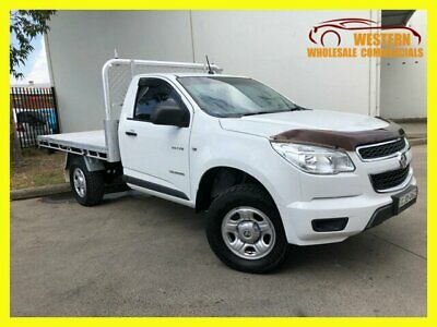 2013 Holden Colorado RG MY13 DX Cab Chassis Single Cab 2dr Man 5sp 1236kg 2.5DT