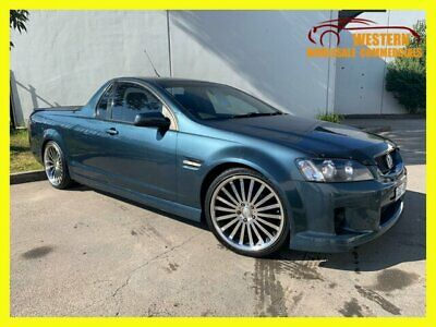 2008 Holden Ute VE SV6 60th Anniversary Utility Extended Cab 2dr Man 6sp 650 M