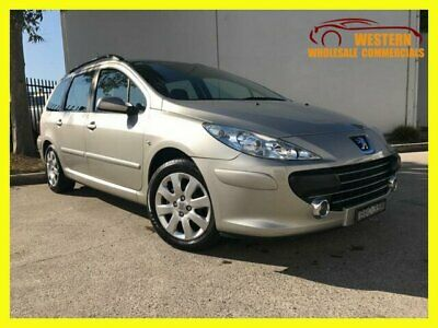 2007 Peugeot 307 T6 XS HDi Touring 5dr Man 5sp 1.6DT Gold Manual M Wagon
