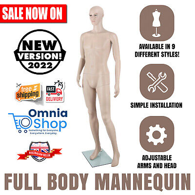 NEW Full Body Mannequin Shop Stall Retailer Manequin Dressmaking Clothes Display