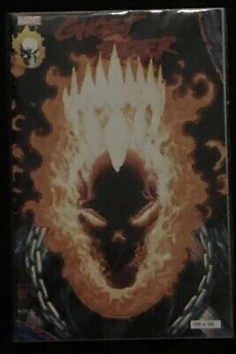 Ghost Rider 1 Glow In The Dark Exclusive Variant Nm New York Comic Con Nycc 19