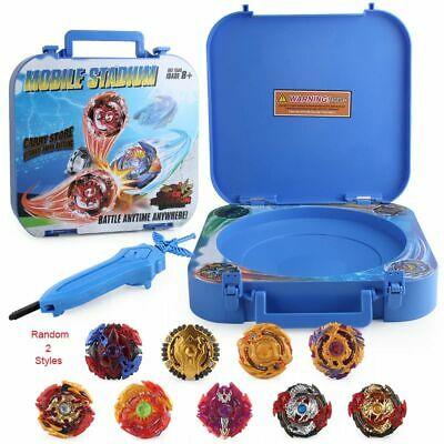 9PCS Boxed bayblade Beyblade Burst 4D Set With Launcher Arena Metal Fight Battle