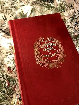 Dickens, A CHRISTMAS CAROL - Top Quality Facsimile of 1843 1st Edition