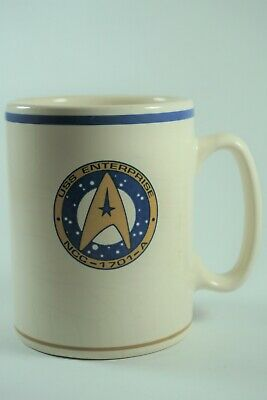 Pfaltzgraff 1993 Star Trek USS Enterprise NCC-1701-A 16oz Mug Coffee