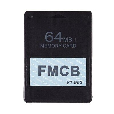 FMCB Free McBoot Card V1.953 for Sony PS2 Playstation2 Memory Card OPL MC B W1L4