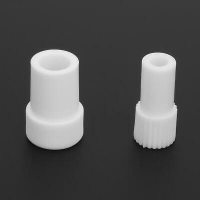 2Pcs Dental Saliva Suction Tube Adapter Surgical Saliva Ejector Converter