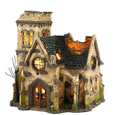 Dept 56 Halloween Village The Haunted Church 4036592 NEW