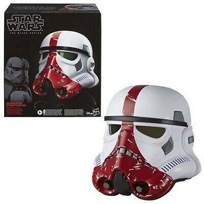 Star Wars The Black Series Incinerator Stormtrooper Helmet Now In Stock! 🚨