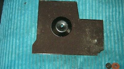 Breaking SINGER 221 Base drip tray with nurled nut & felt washer as photos