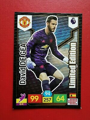 David De Gea Limited Edition New Card | Premier League 2019/20 Panini Adrenalyn