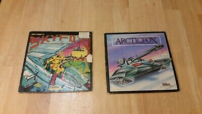 Arcticfox and SkyFox by Electronic Arts for Commodore 64 Tested