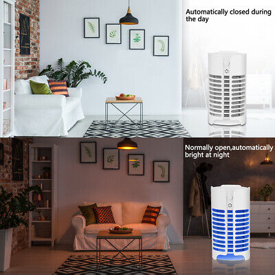 LD_ Electric Bug Zapper Household Mosquito Killer Lamp LED Night Light Insect