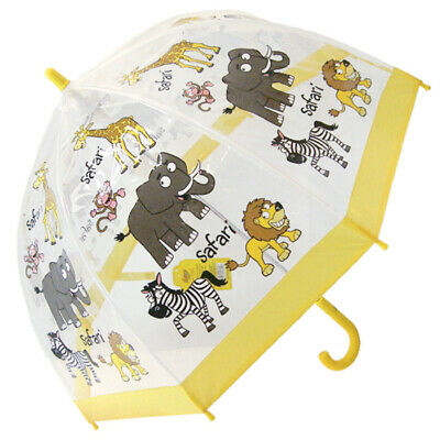 Bugzz PVC Dome Umbrella for Children - Safari