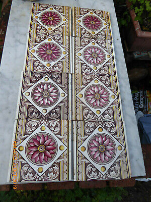 8  Fireplace  Floral  Tiles  By  Cleveland  Tiles